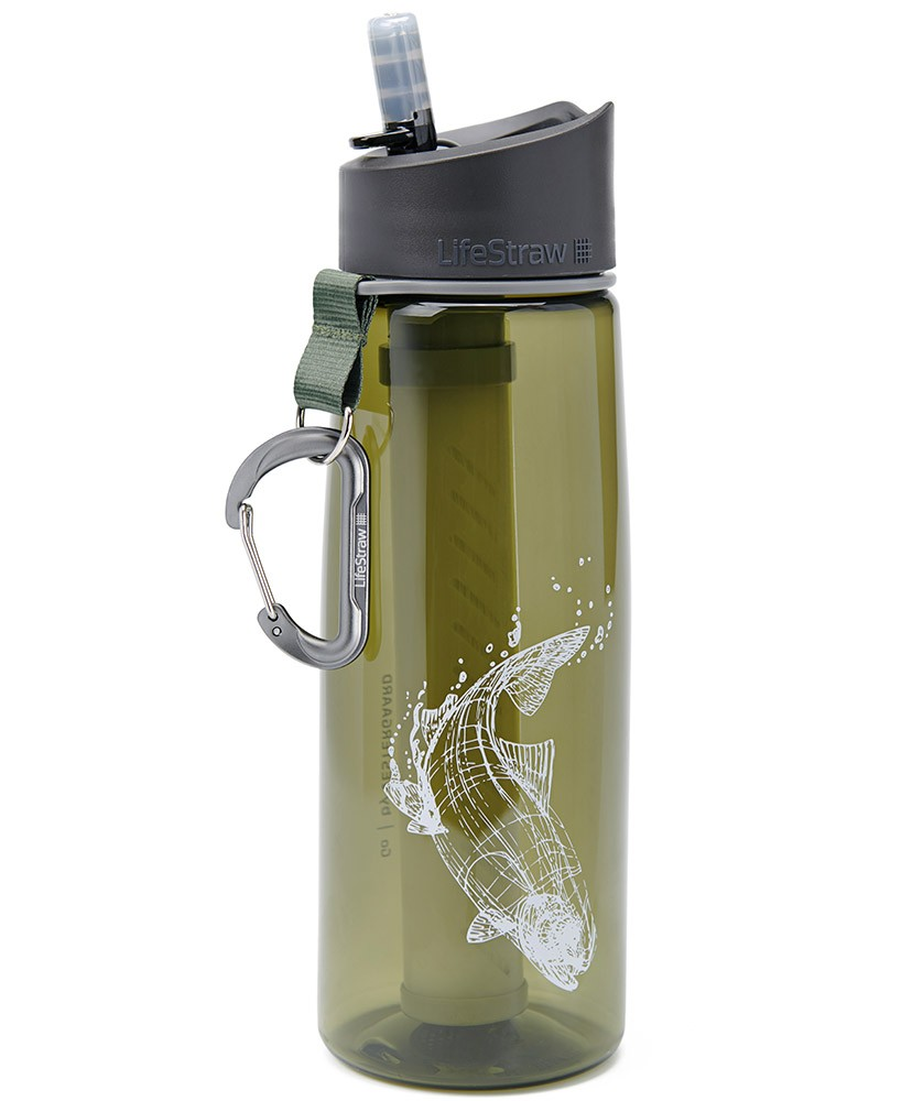 LIFESTRAW GO 2 STAGES FISH TROUT